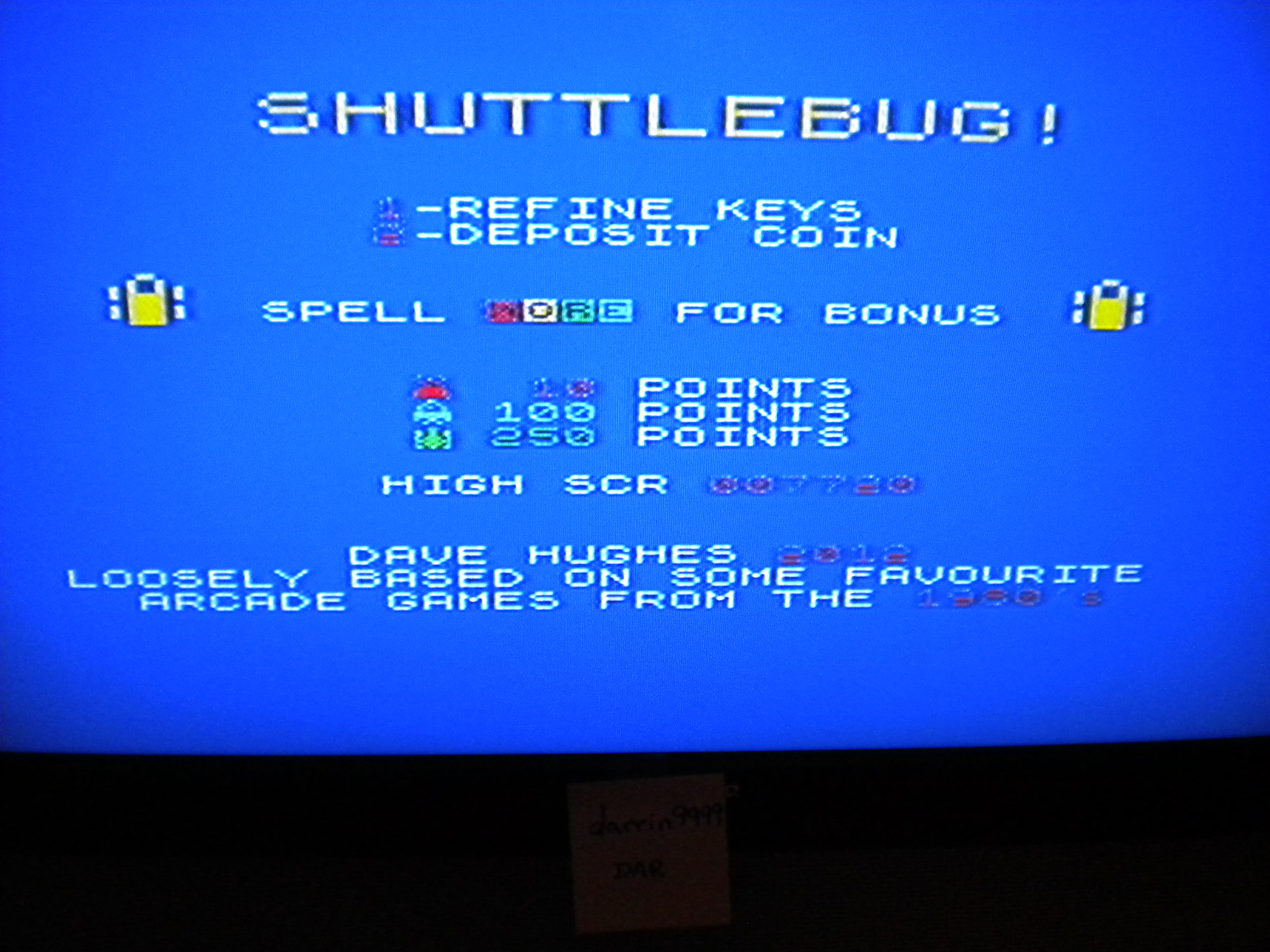 Shuttlebug 7,720 points
