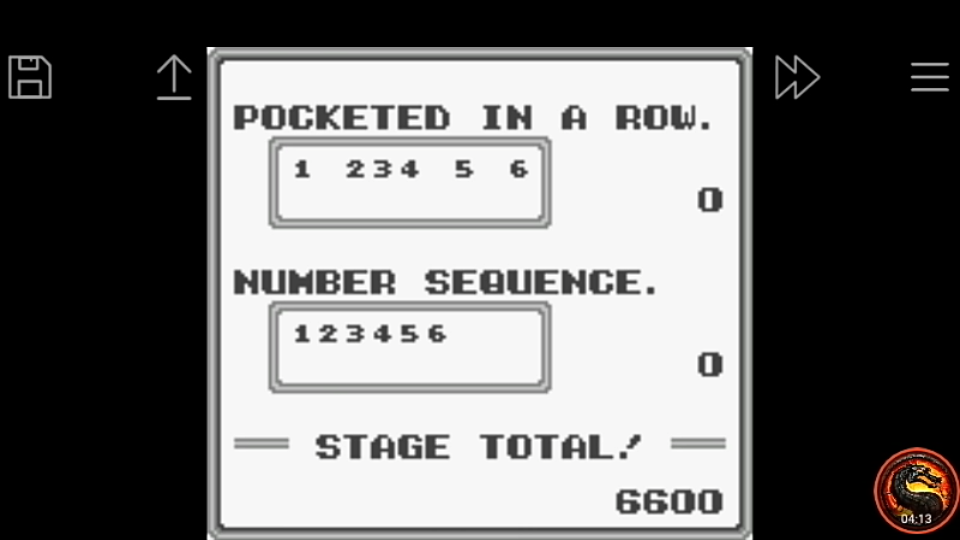 omargeddon: Side Pocket [Pocket Mode] (Game Boy Emulated) 10,000 points on 2020-05-17 22:08:40