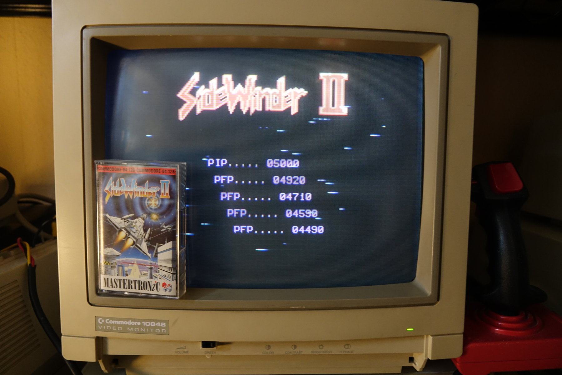 plus4punk: Sidewinder II (Commodore 64) 4,920 points on 2020-06-16 14:04:32