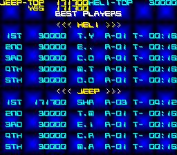 Silk Worm: Jeep [silkworm] 171,700 points