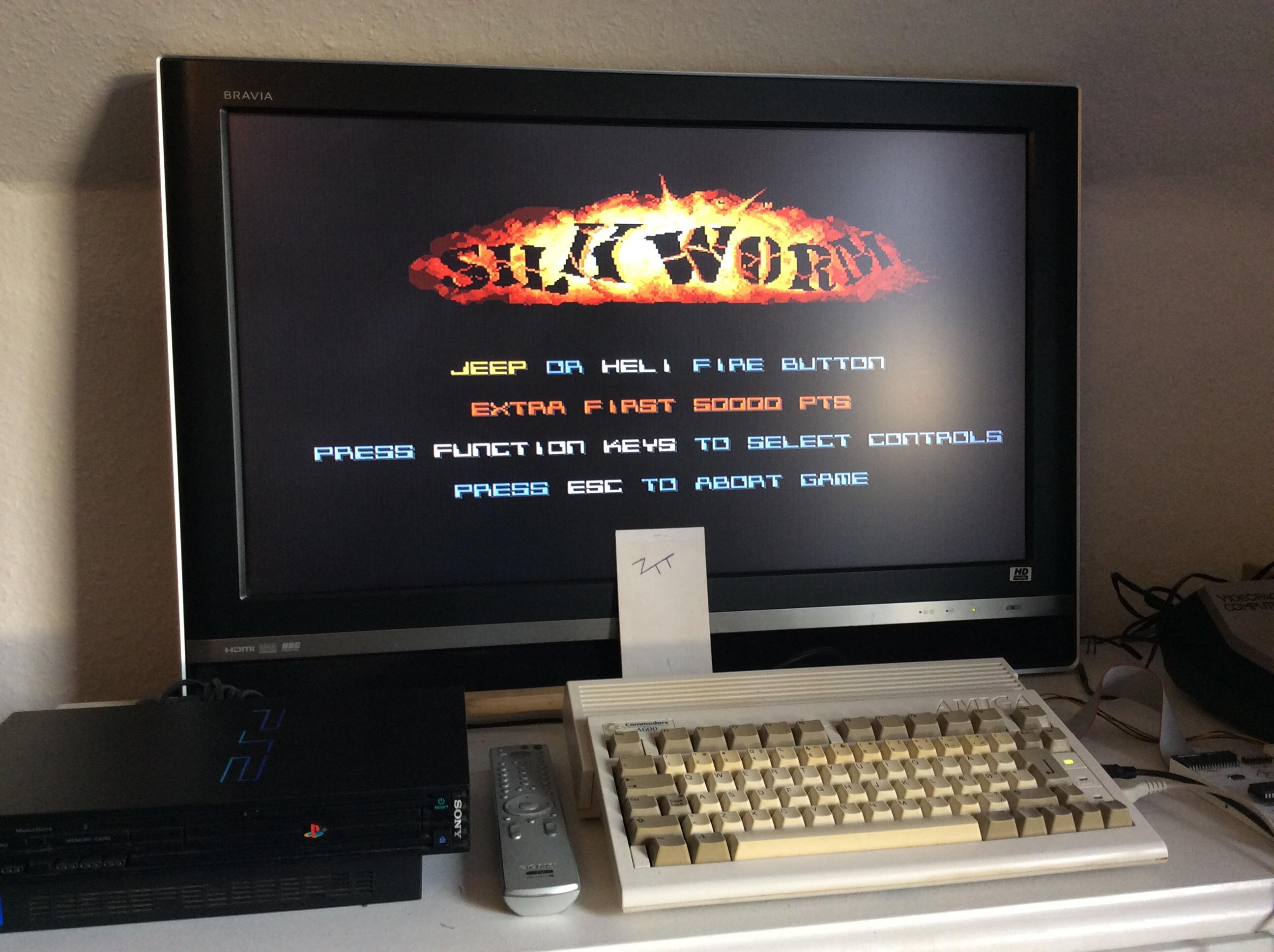 Frankie: Silkworm (Amiga) 168,300 points on 2016-10-29 02:39:34