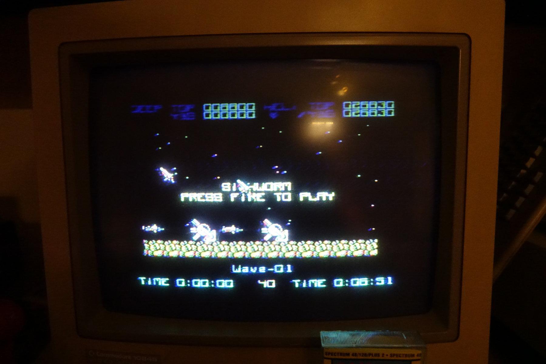 plus4punk: Silkworm (ZX Spectrum) 26,830 points on 2020-03-02 13:04:50