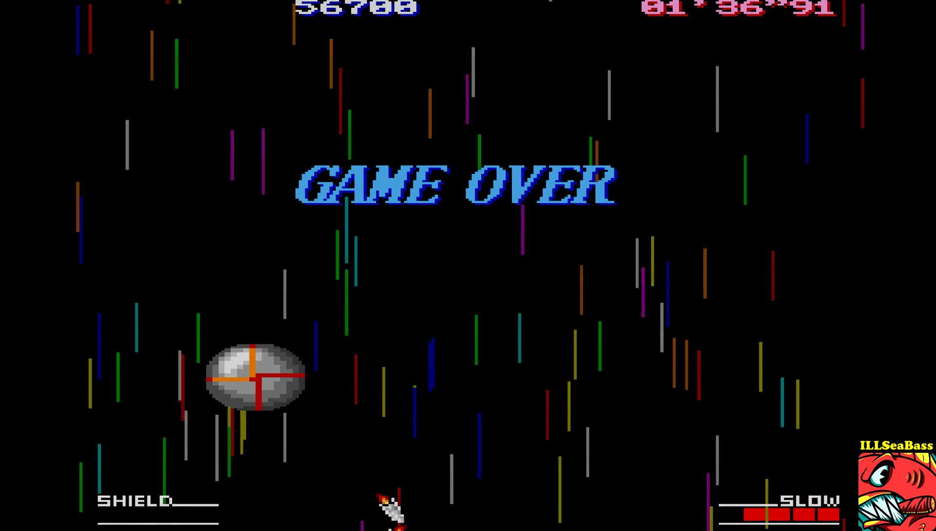 ILLSeaBass: Silsteel: Score Attack [Easy] (Sharp X68000 Emulated) 56,700 points on 2017-07-01 21:51:40