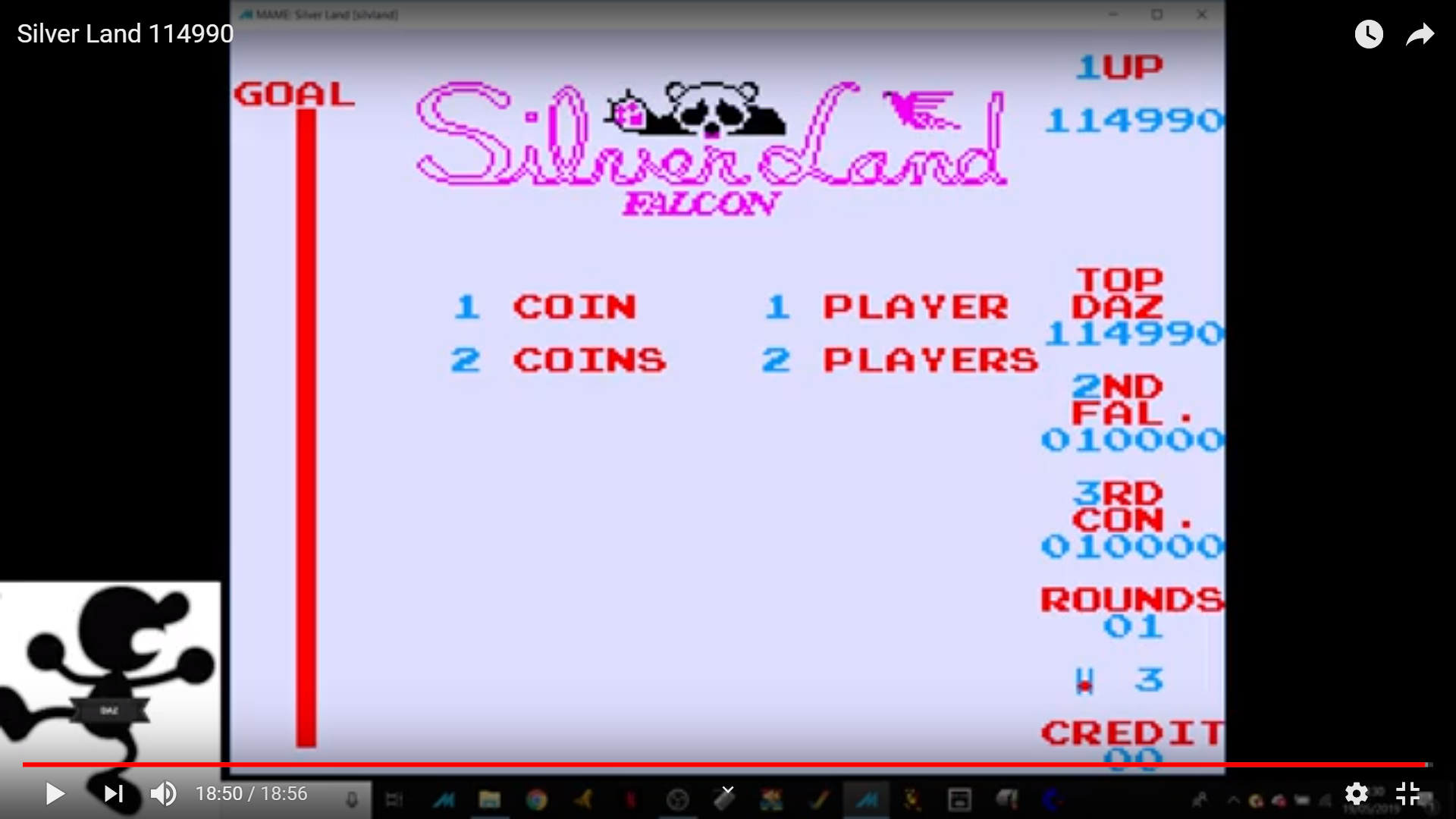 Ivanstorm1973: Silver Land [silvland] (Arcade Emulated / M.A.M.E.) 114,990 points on 2019-05-19 09:13:13