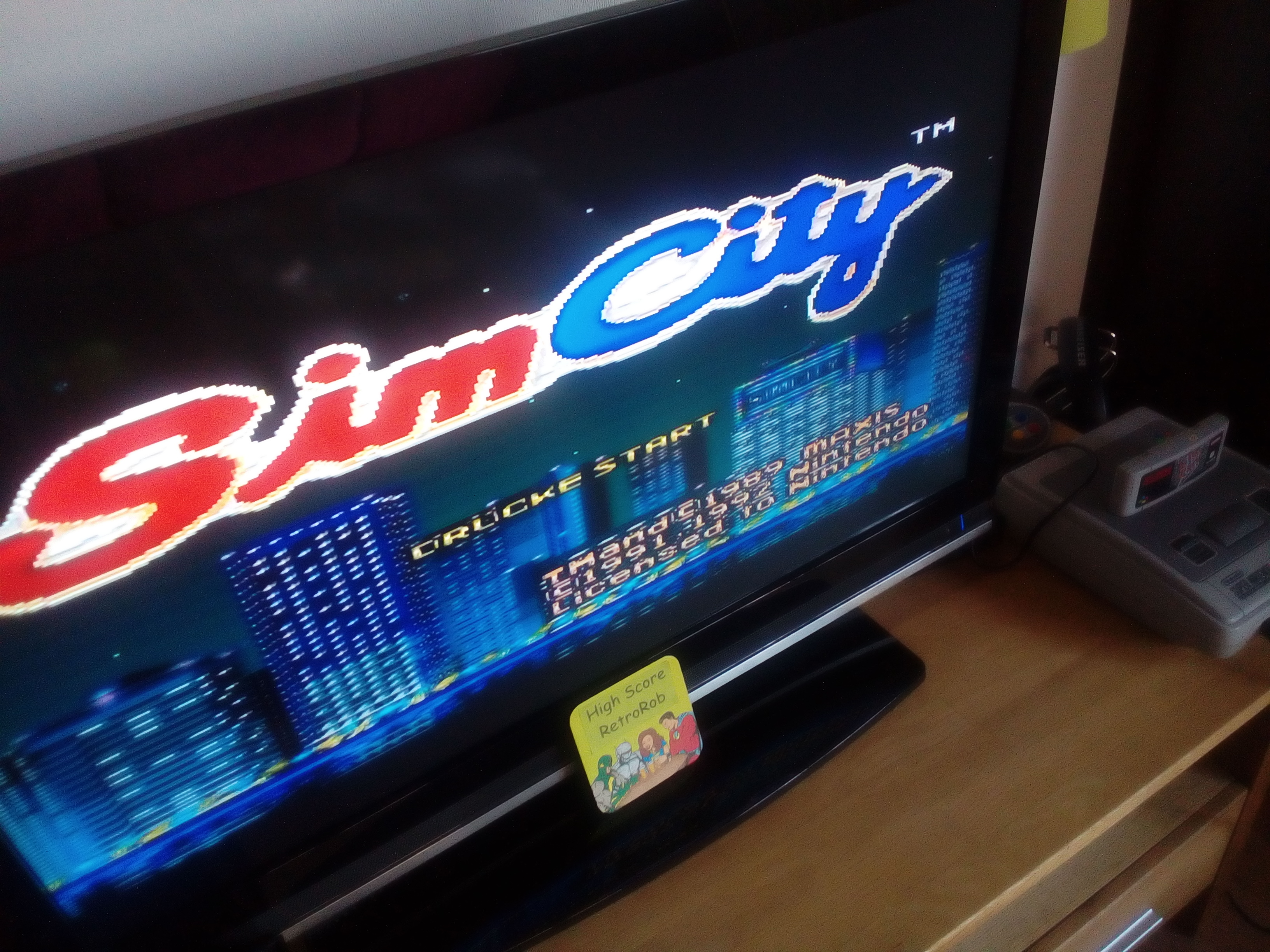 RetroRob: Sim City: Population (SNES/Super Famicom) 347,640 points on 2018-05-04 00:51:59