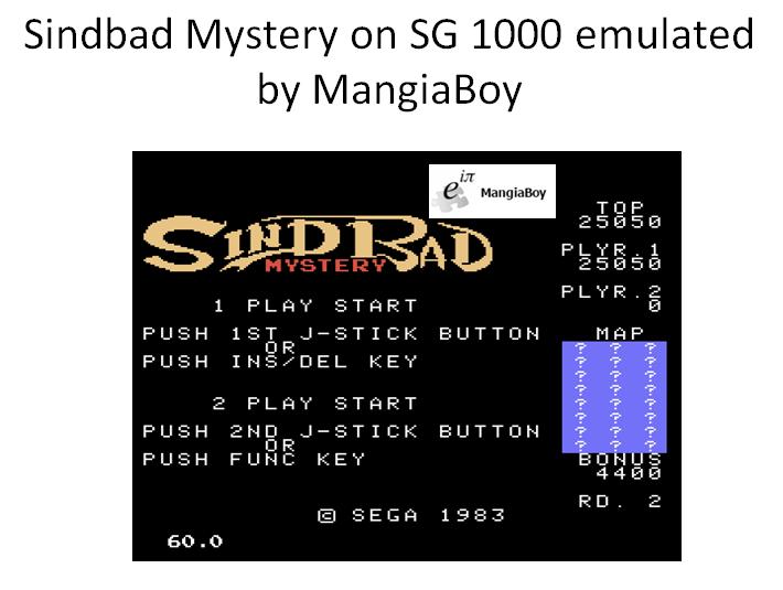 Sindbad Mystery 25,050 points