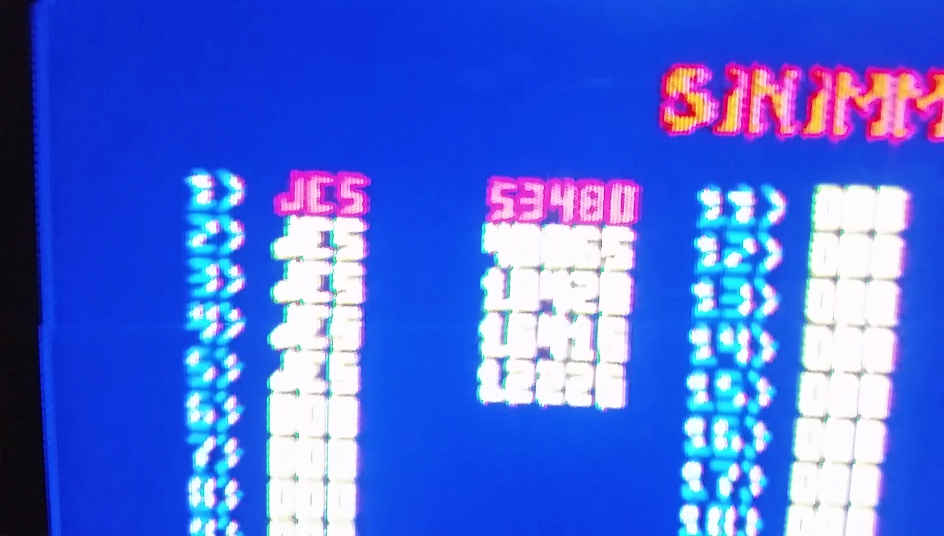 JES: Sinistar (Arcade Emulated / M.A.M.E.) 53,480 points on 2017-02-18 13:30:08