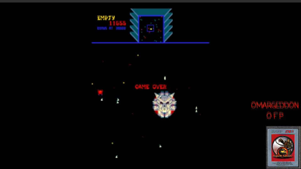 omargeddon: Sinistar (Arcade Emulated / M.A.M.E.) 11,655 points on 2017-05-21 16:59:08