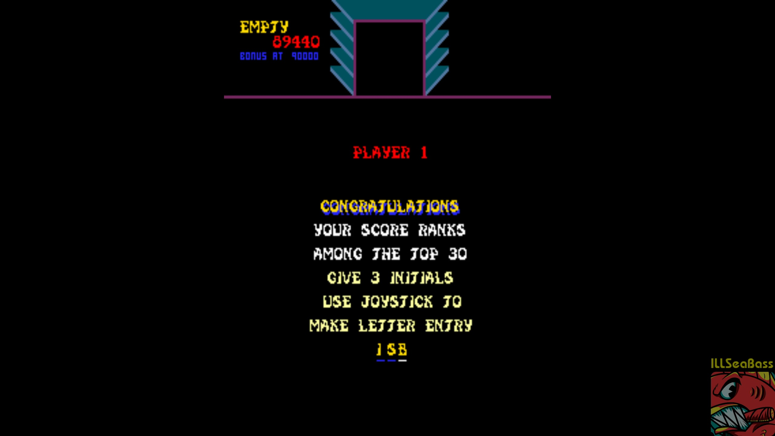 ILLSeaBass: Sinistar (Arcade Emulated / M.A.M.E.) 89,440 points on 2018-04-02 20:36:38