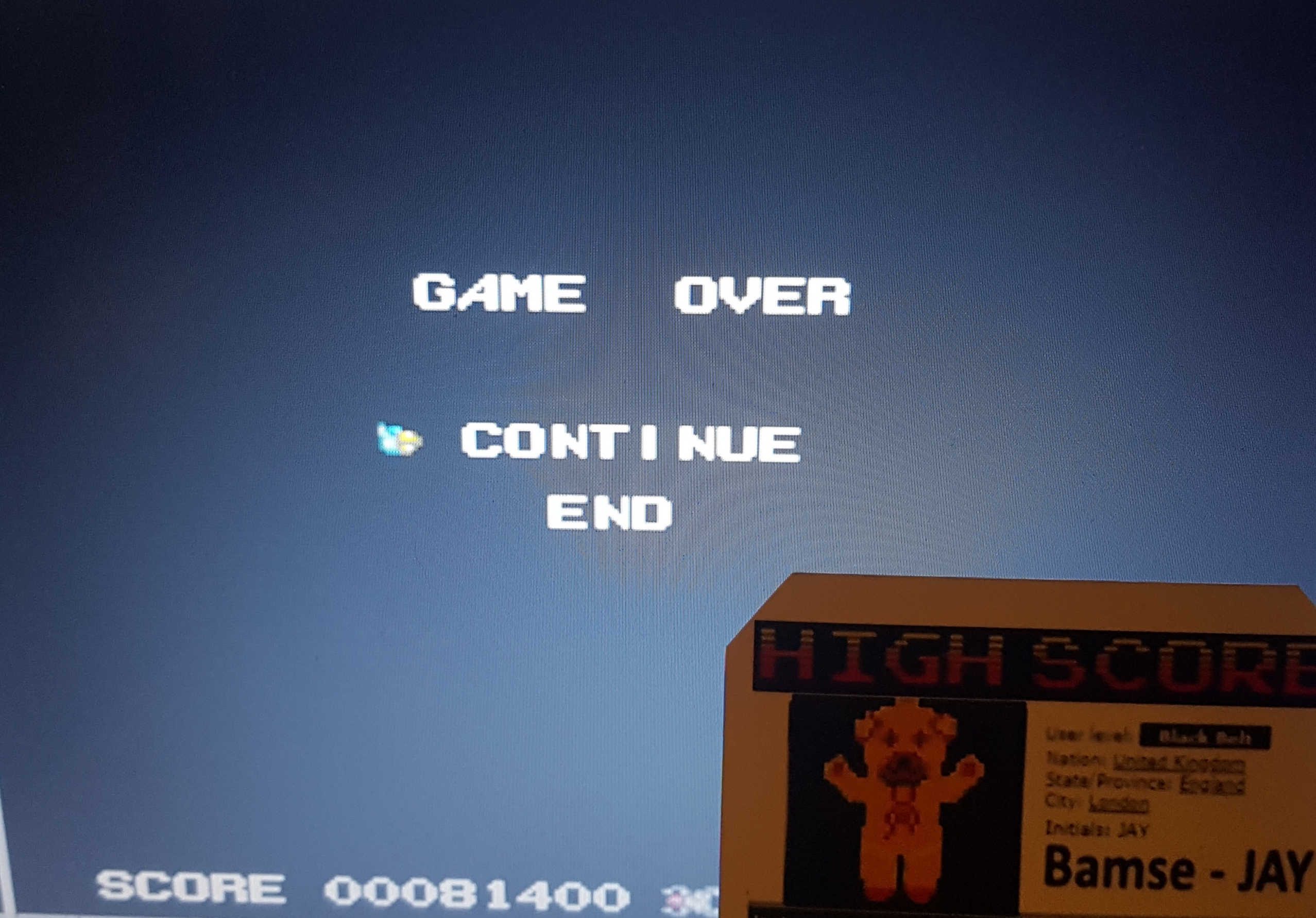 Bamse: Sinistron (TurboGrafx-16/PC Engine Emulated) 81,400 points on 2019-10-18 15:04:11