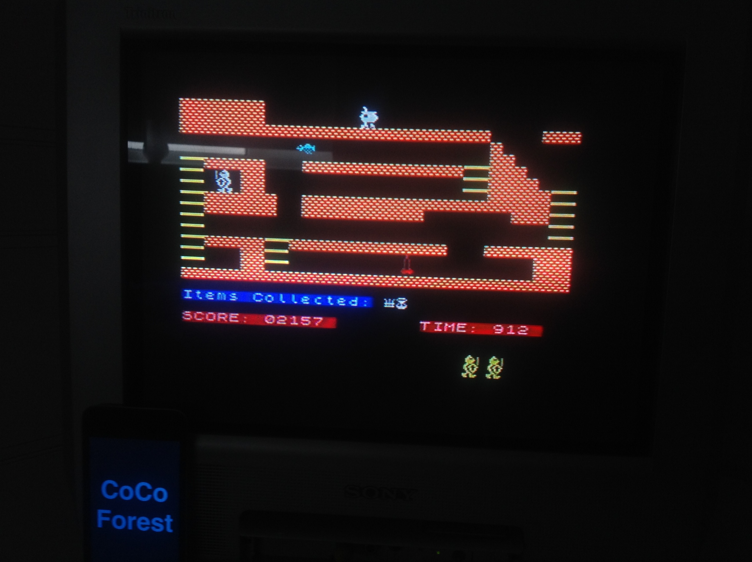 CoCoForest: Sir Lancelot (ZX Spectrum) 2,157 points on 2016-01-14 05:37:50