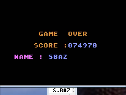 S.BAZ: Sir Pac-Man (Atari 400/800/XL/XE Emulated) 74,970 points on 2016-05-28 16:47:45