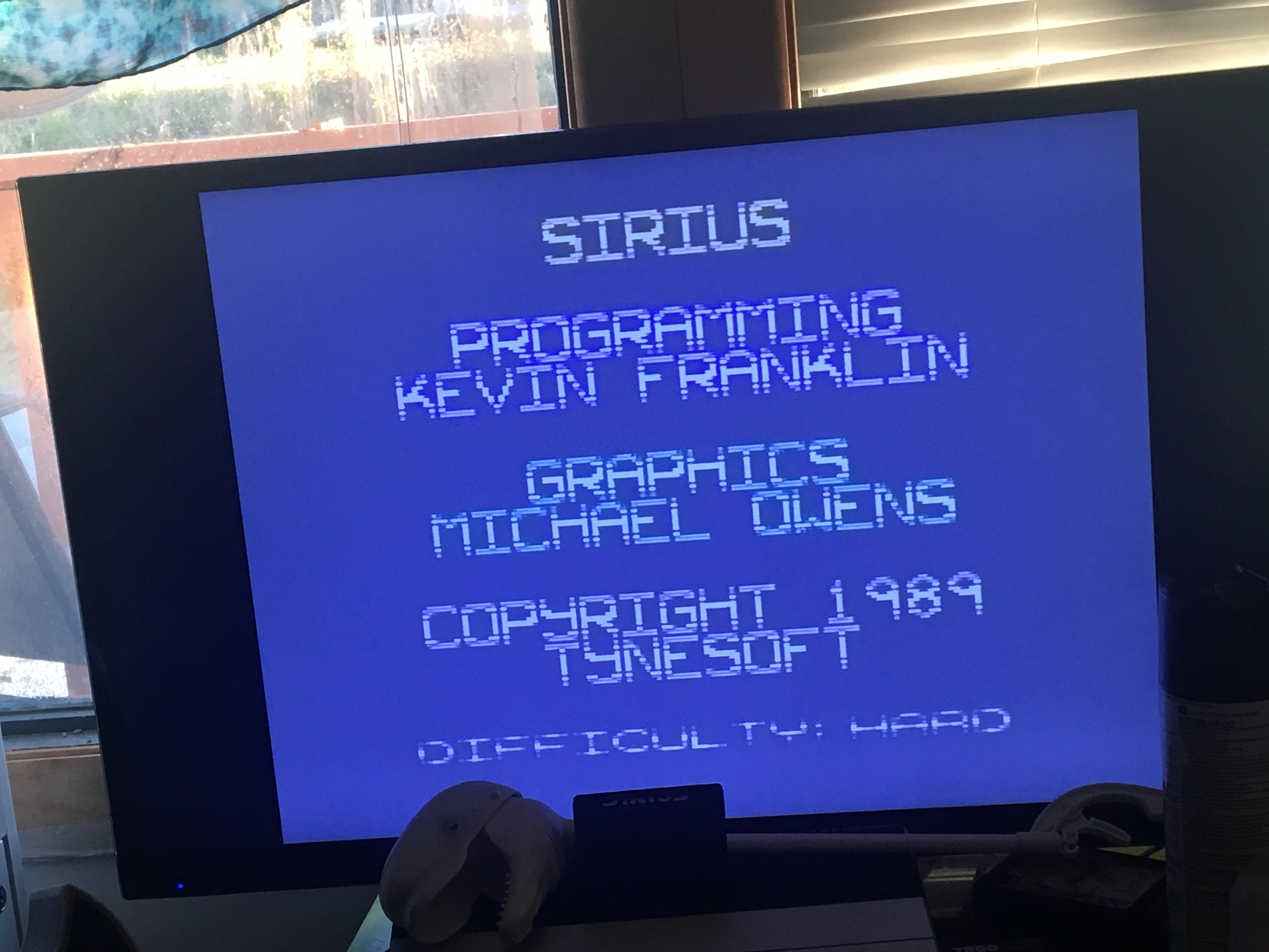 CousinVinnie: Sirius: Difficulty A (Atari 7800) 19,425 points on 2017-11-26 15:50:33