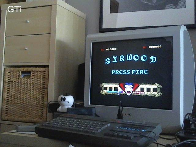GTibel: Sirwood [Part 1] [10,000 Points Completion Bonus] (ZX Spectrum) 550 points on 2017-06-03 09:22:04