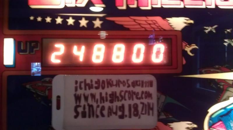 Six Million Dollar Man 248,800 points
