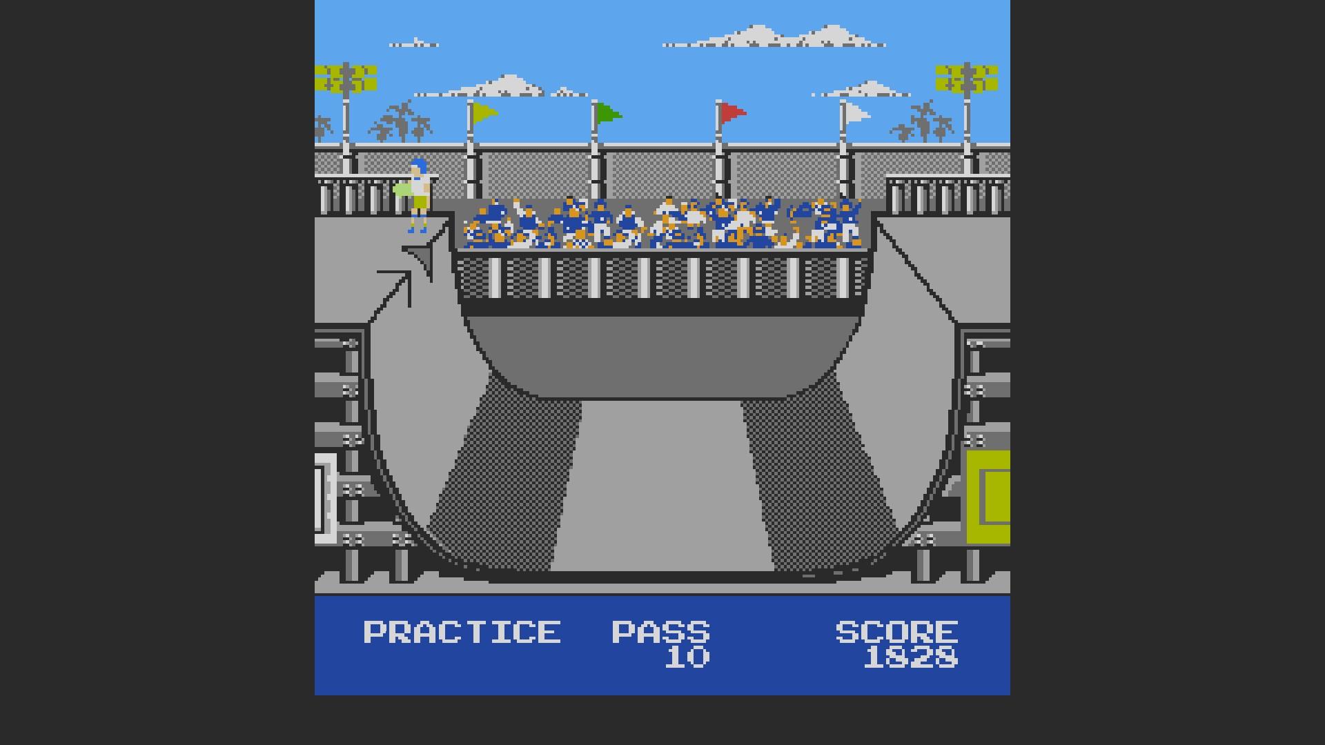 Skate Or Die: Ramp Freestyle 1,828 points