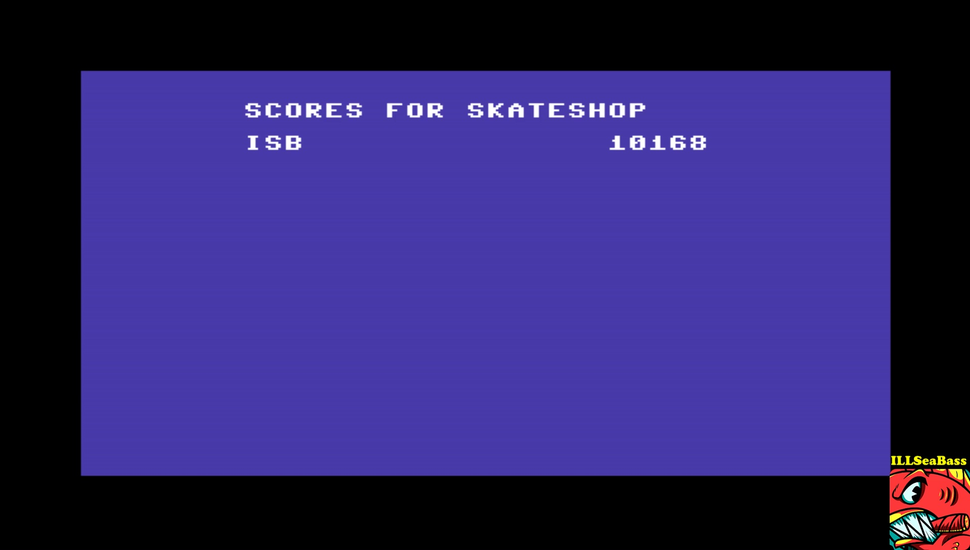 ILLSeaBass: Skate or Die [Downhill Jam] (Commodore 64 Emulated) 10,168 points on 2017-04-17 11:41:06