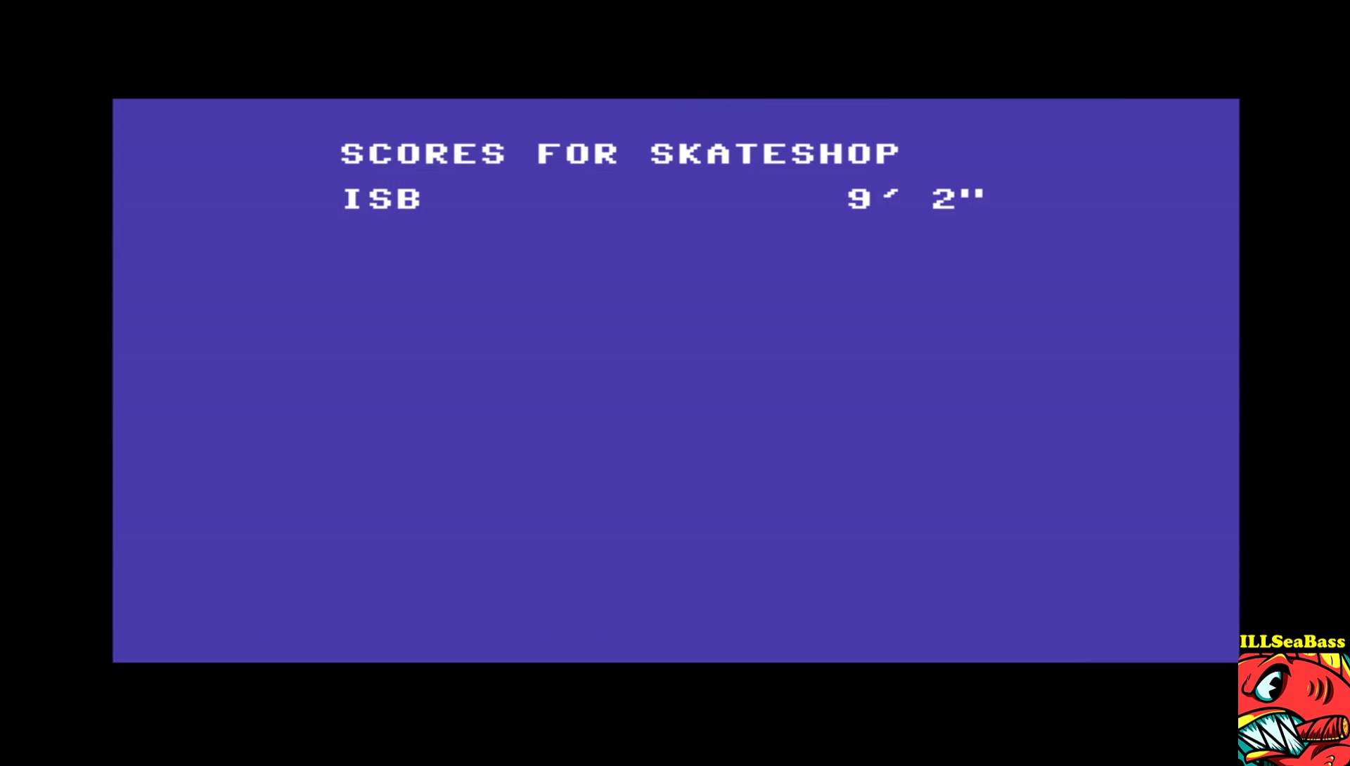 ILLSeaBass: Skate or Die [High Jump] (Commodore 64 Emulated) 110 points on 2017-04-18 00:37:34