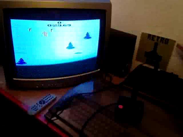 RetroRob: Skiing: Game 3 (Atari 2600 Novice/B) 0:00:29.69 points on 2020-09-02 05:07:05