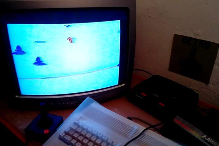 RetroRob: Skiing: Game 7 (Atari 2600 Expert/A) 0:00:27.07 points on 2020-09-09 09:56:59