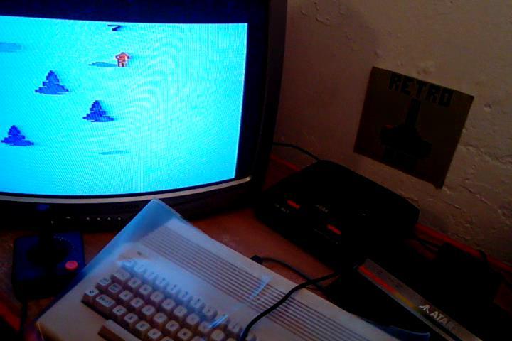 RetroRob: Skiing: Game 7 (Atari 2600 Novice/B) 0:00:27.74 points on 2020-09-09 05:11:06