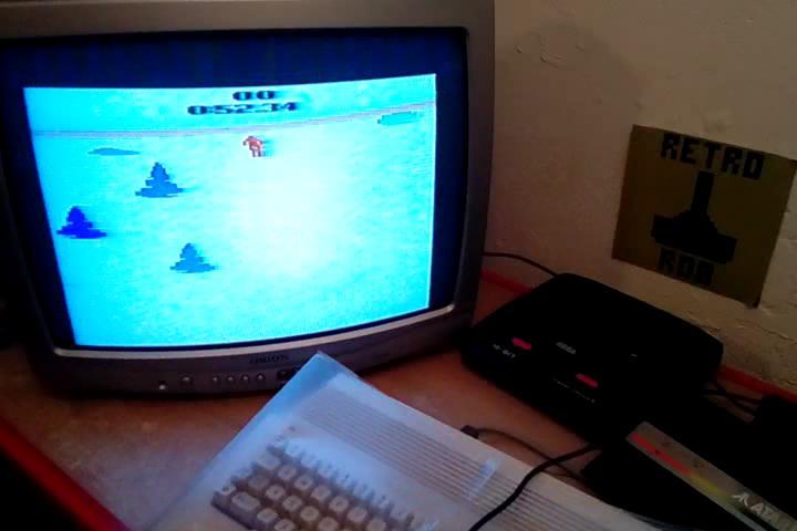 RetroRob: Skiing: Game 8 (Atari 2600 Expert/A) 0:00:52.34 points on 2020-09-09 09:59:50