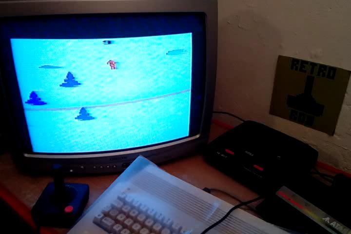 RetroRob: Skiing: Game 9 (Atari 2600 Expert/A) 0:01:40.54 points on 2020-09-09 10:01:41