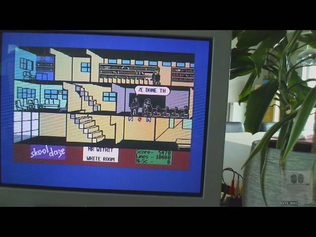 GTibel: Skool Daze (Commodore 64) 5,470 points on 2019-08-22 04:54:31