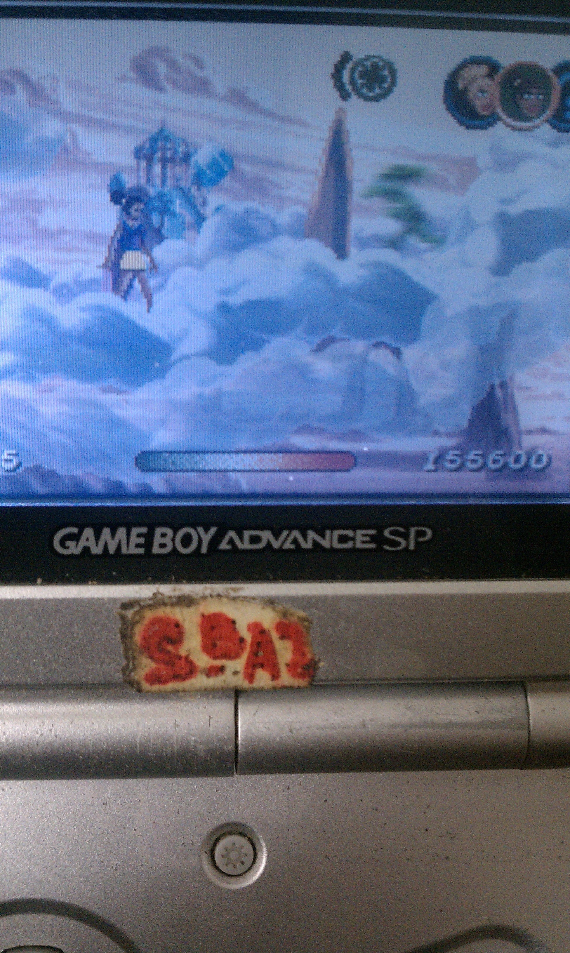 S.BAZ: Sky Dancers (GBA) 155,600 points on 2020-06-04 15:35:25