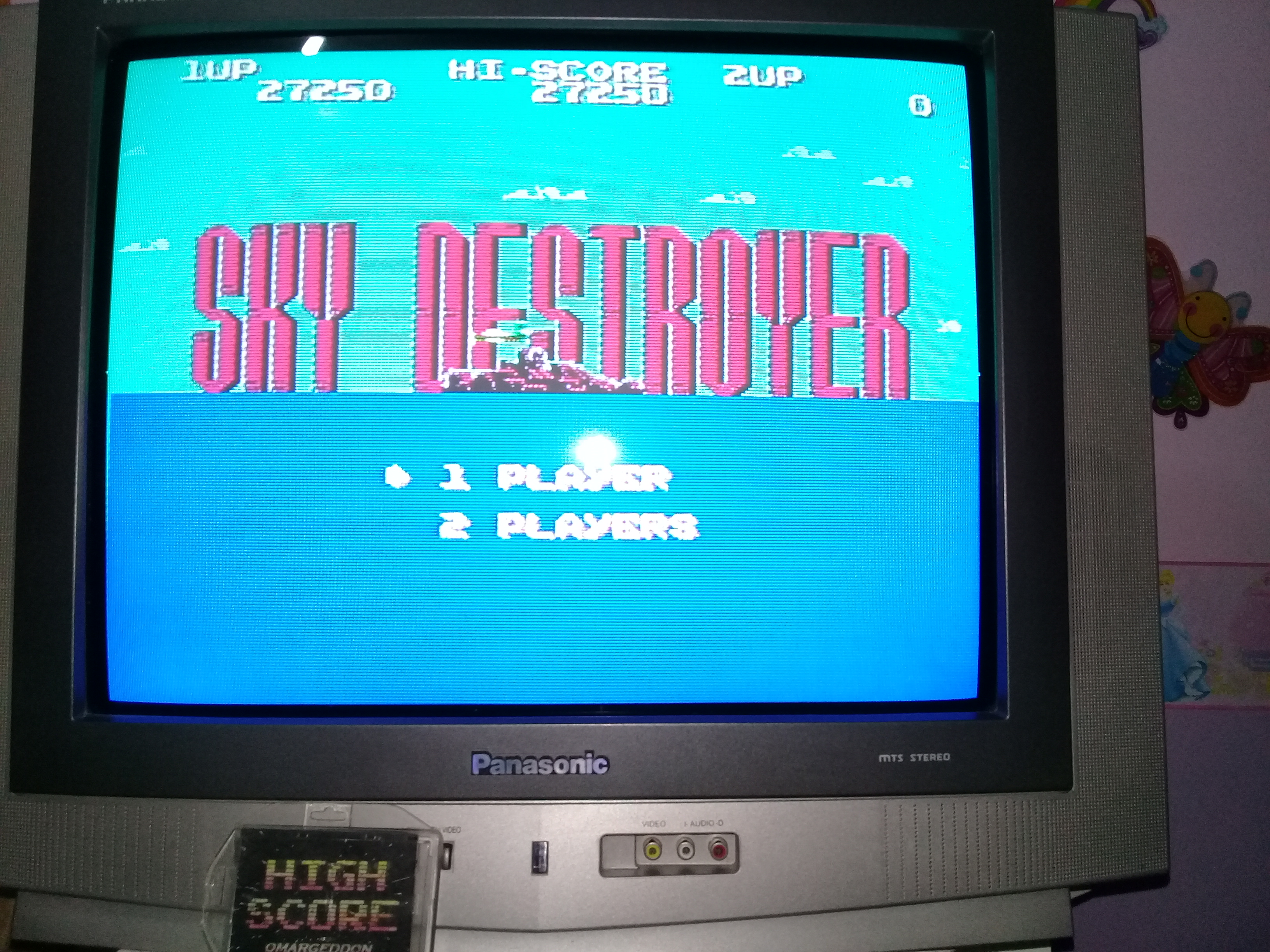omargeddon: Sky Destroyer (NES/Famicom) 27,250 points on 2019-03-25 20:38:24