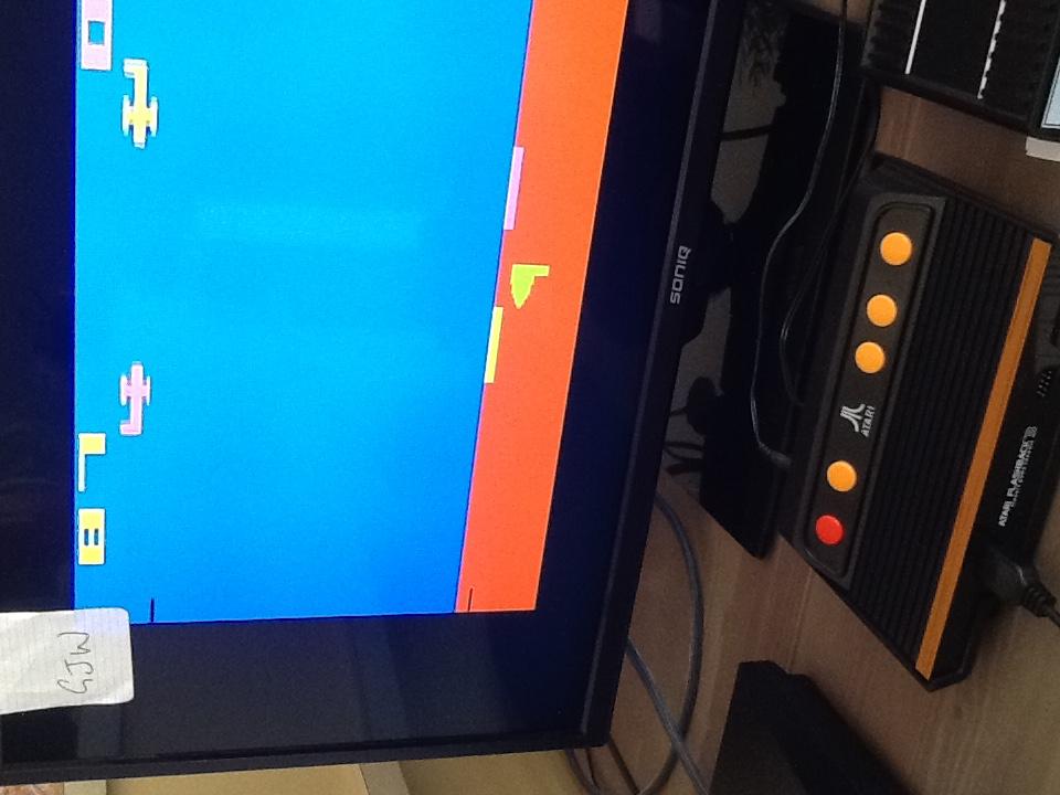 Gray: Sky Diver (Atari 2600 Emulated Novice/B Mode) 87 points on 2015-10-05 18:17:09