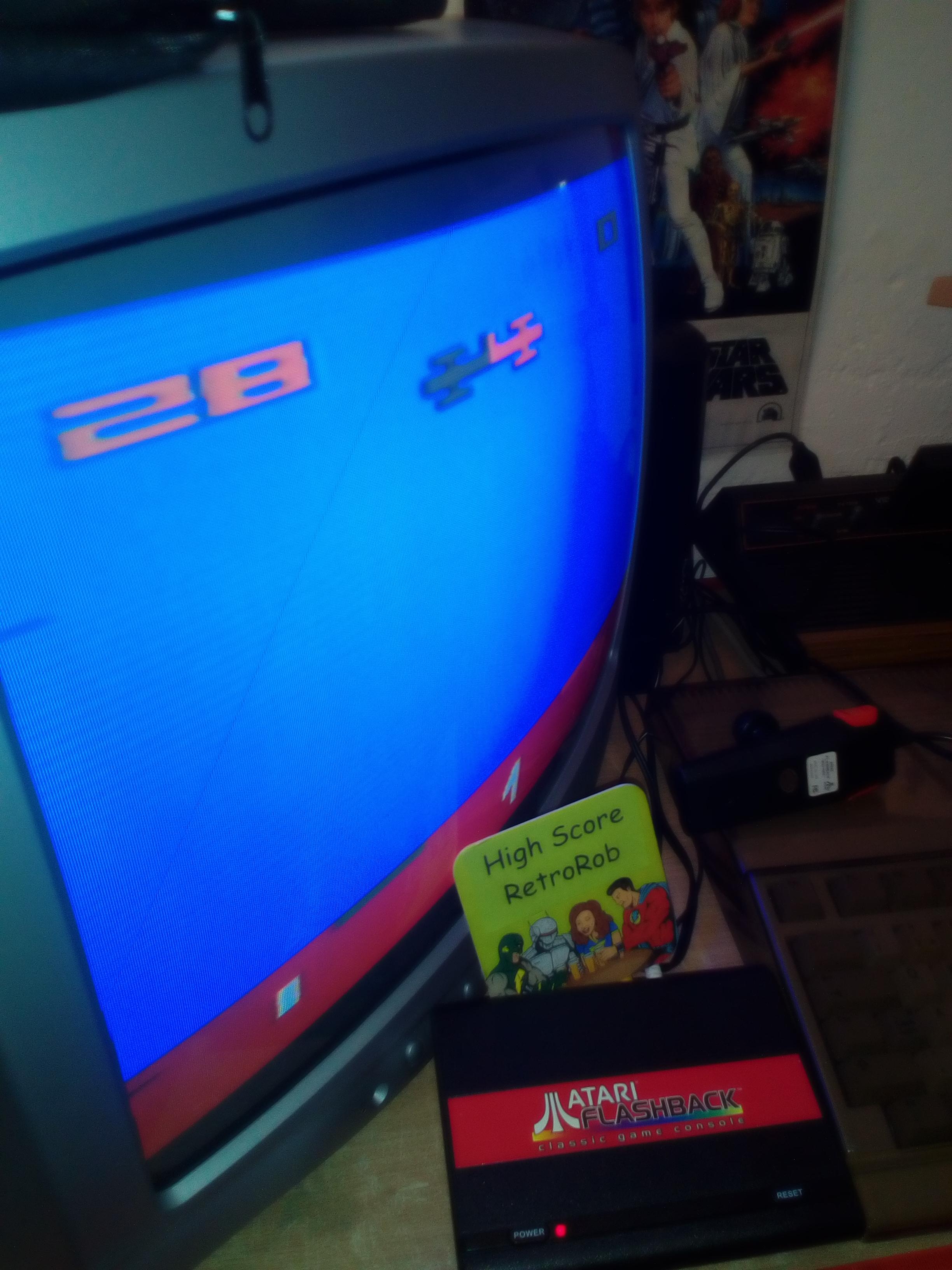 RetroRob: Sky Diver (Atari Flashback 1) 28 points on 2018-08-25 09:37:45