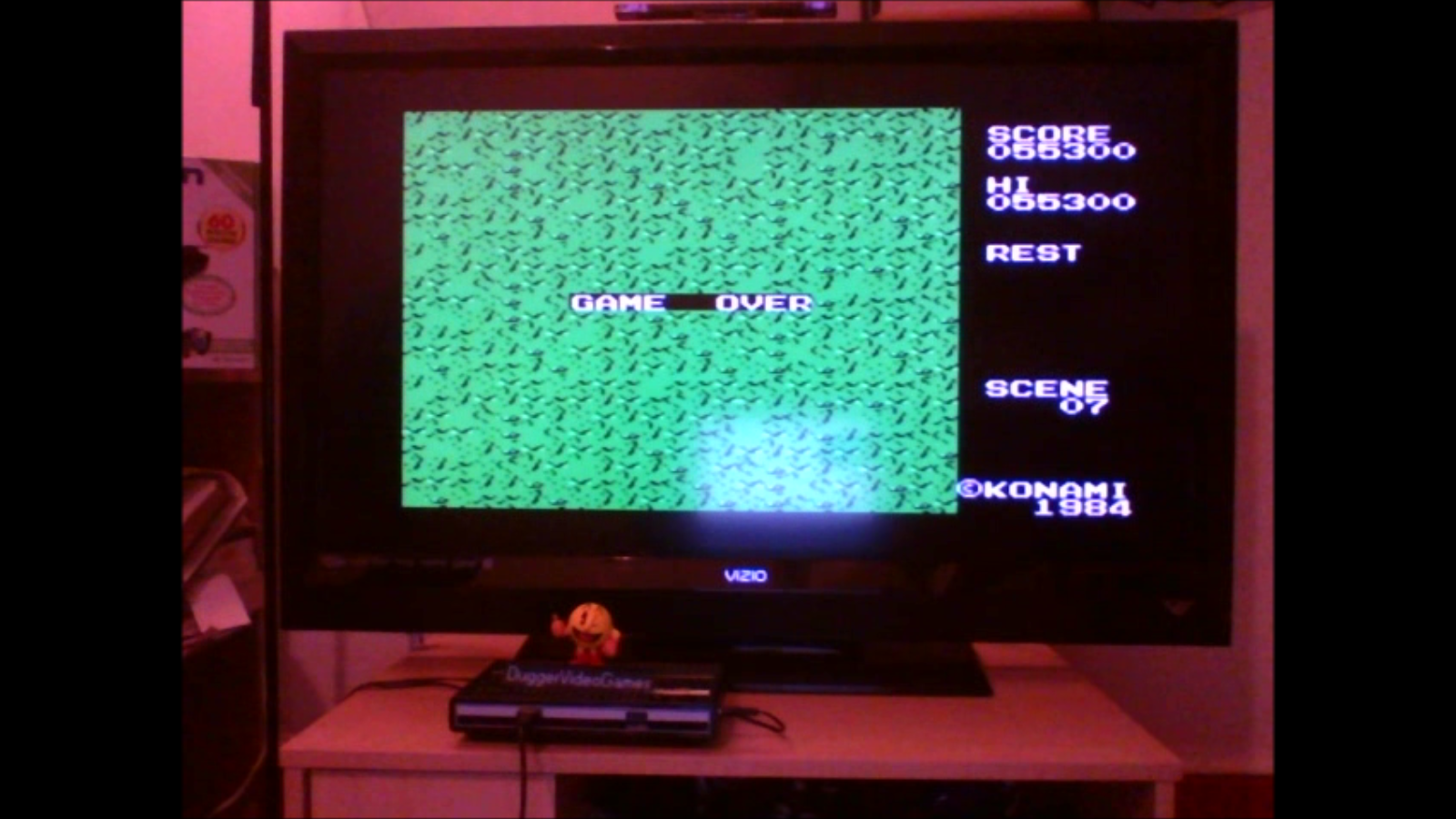 DuggerVideoGames: Sky Jaguar (Colecovision Emulated) 55,300 points on 2016-07-10 20:29:26