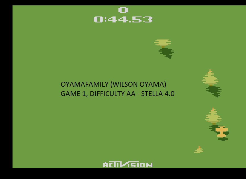 oyamafamily: Sky Jinks (Atari 2600 Emulated Expert/A Mode) 0:00:44.53 points on 2015-07-22 19:48:08