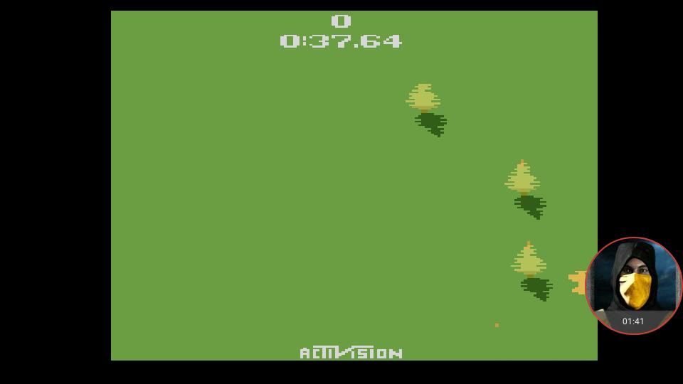 omargeddon: Sky Jinks (Atari 2600 Emulated Novice/B Mode) 0:00:37.64 points on 2018-02-25 15:27:09