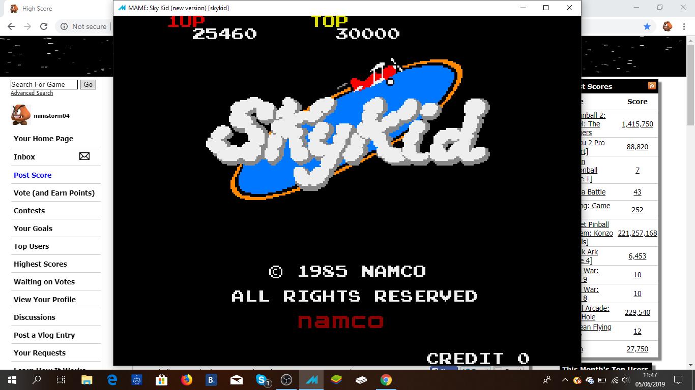 Sky Kid [skykid] 25,460 points