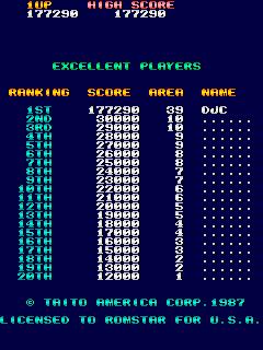 derek: Sky Shark (Arcade Emulated / M.A.M.E.) 177,290 points on 2017-04-29 16:58:04