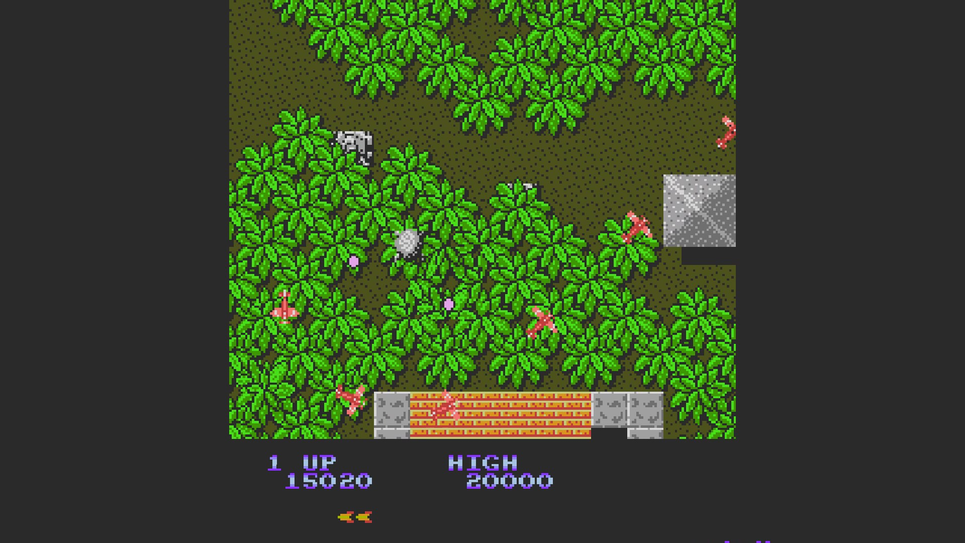 AkinNahtanoj: Sky Shark (NES/Famicom Emulated) 15,020 points on 2020-10-28 03:55:12