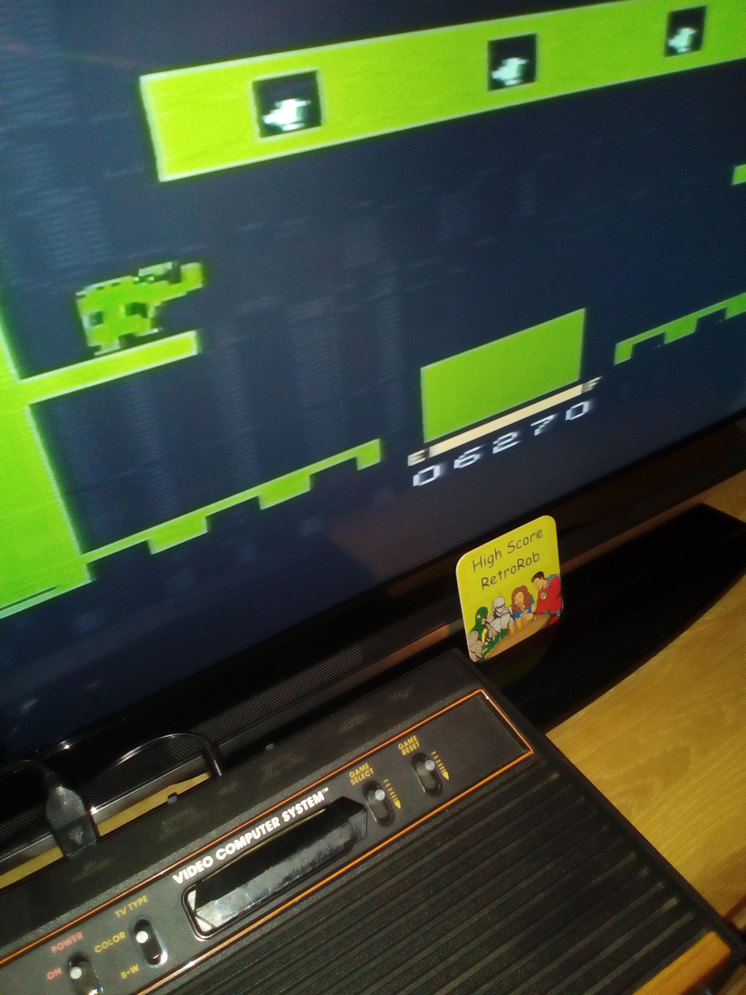 RetroRob: Sky Skipper (Atari 2600 Novice/B) 6,270 points on 2018-03-06 11:14:16