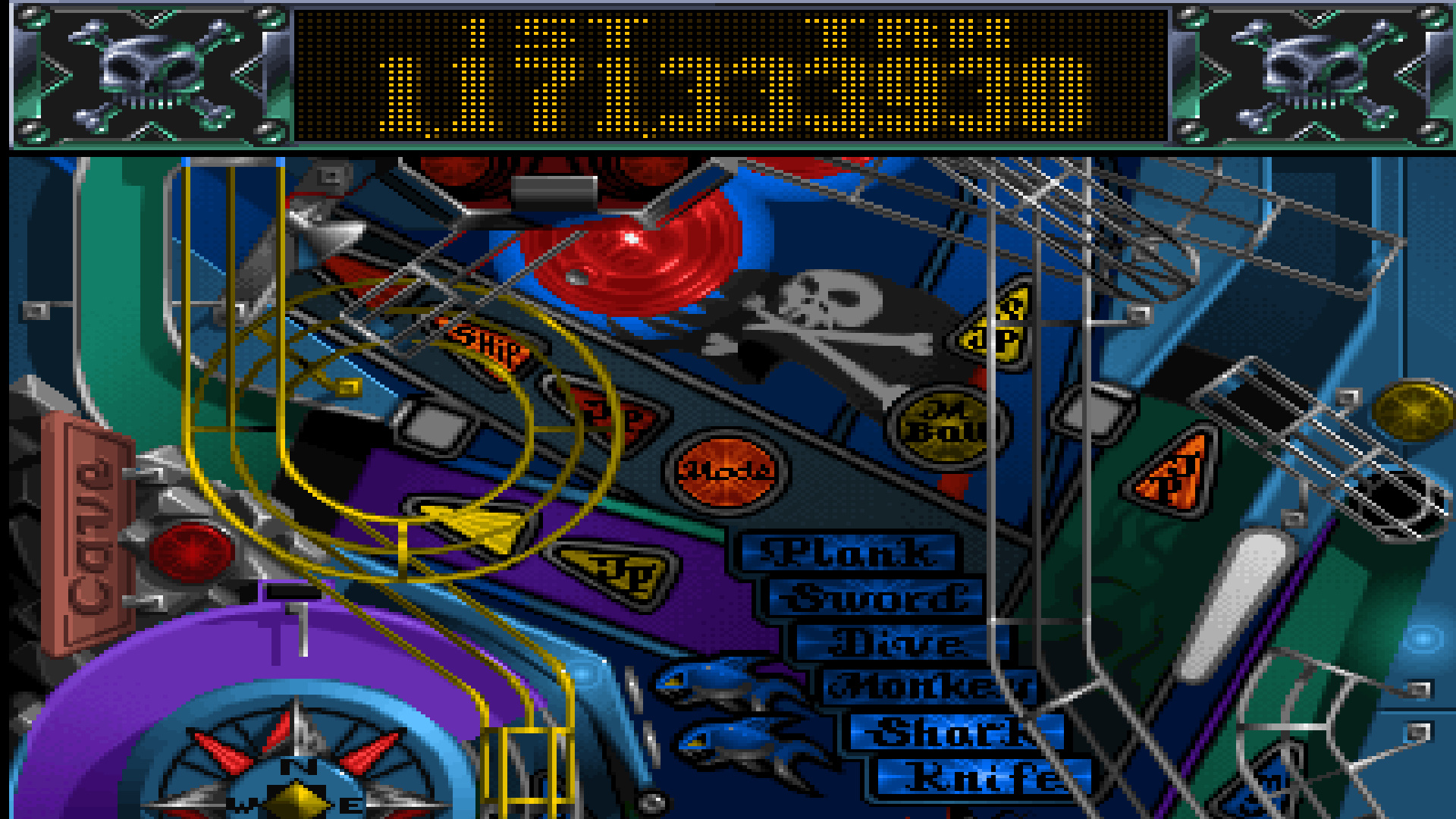 TheTrickster: Slam Tilt: The Pirate (Amiga Emulated) 1,171,333,930 points on 2016-03-24 19:18:59
