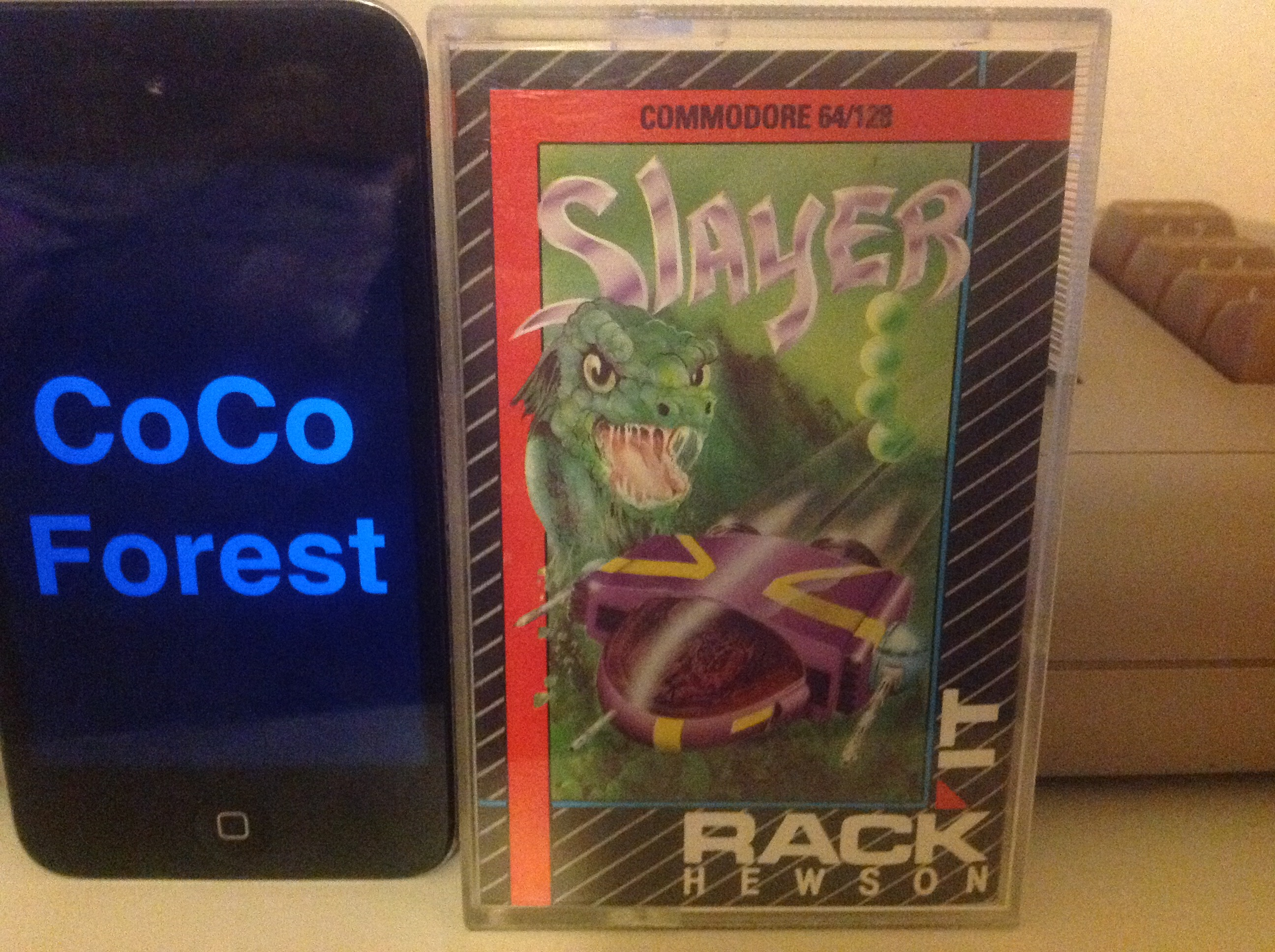 CoCoForest: Slayer (Commodore 64) 5,440 points on 2015-12-18 12:05:24