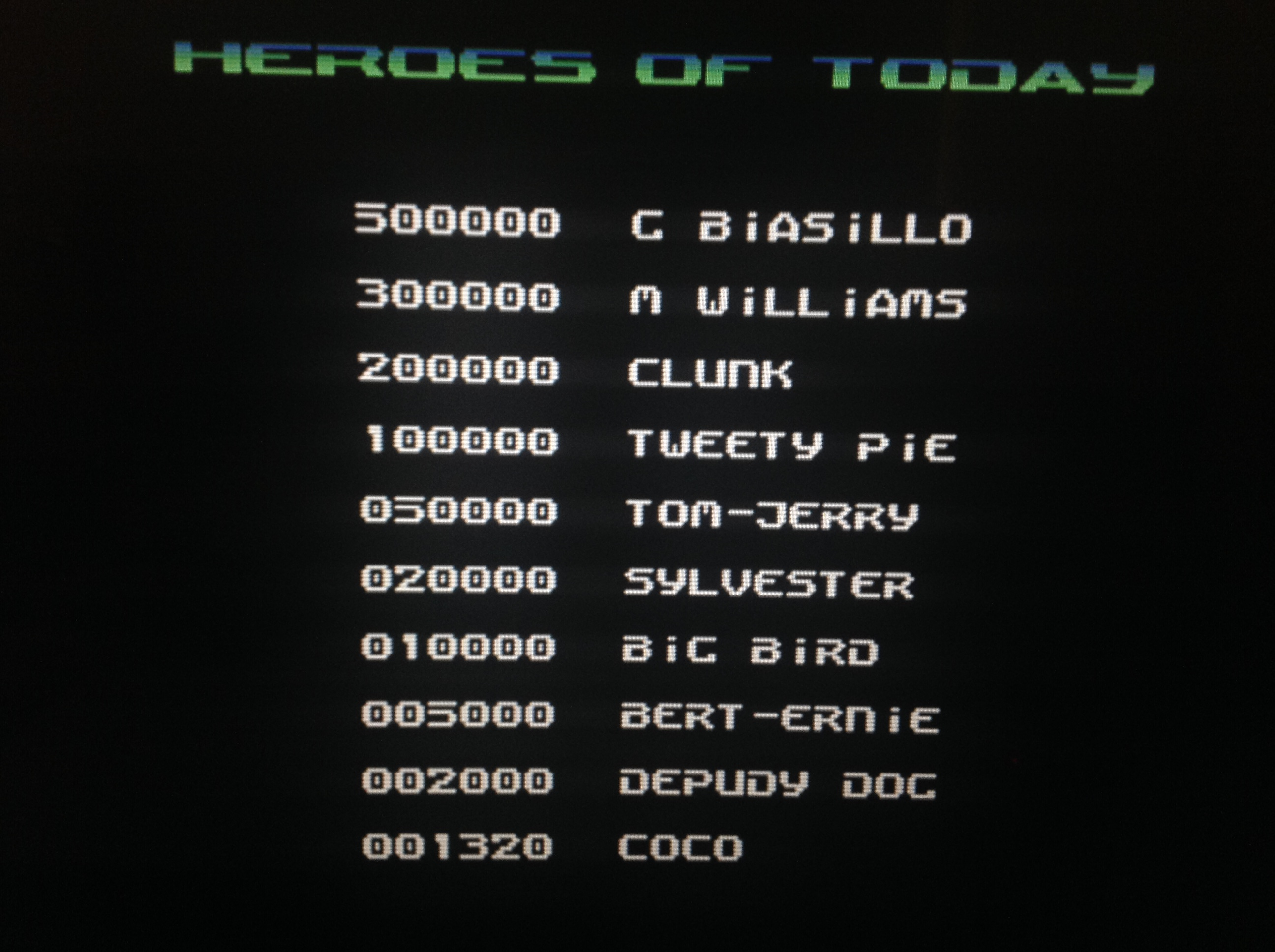 CoCoForest: Slayer (Commodore 64 Emulated) 1,320 points on 2018-04-19 11:40:10