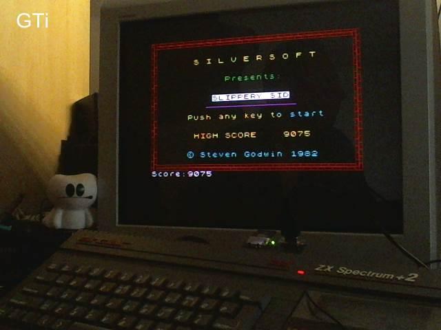 GTibel: Slippery Sid (ZX Spectrum) 9,075 points on 2017-08-15 03:04:29