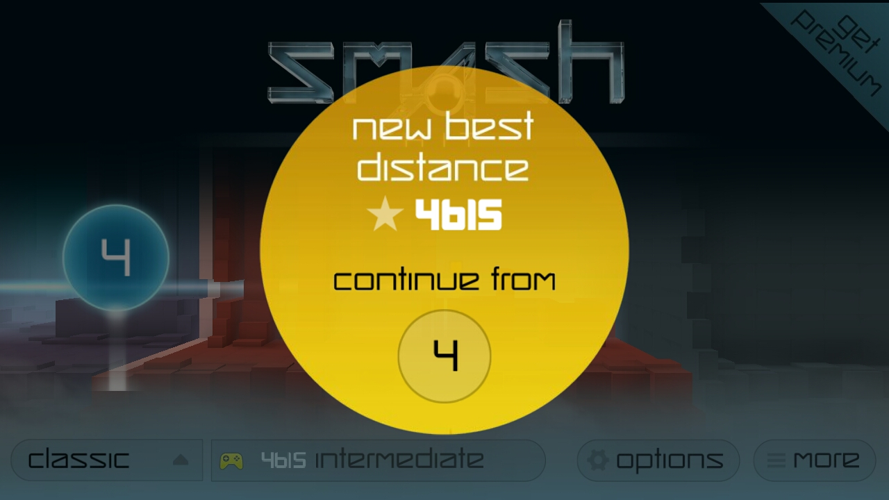 Hauntedprogram: Smash Hit [Classic/Endless] (Android) 4,615 points on 2020-11-11 01:54:01