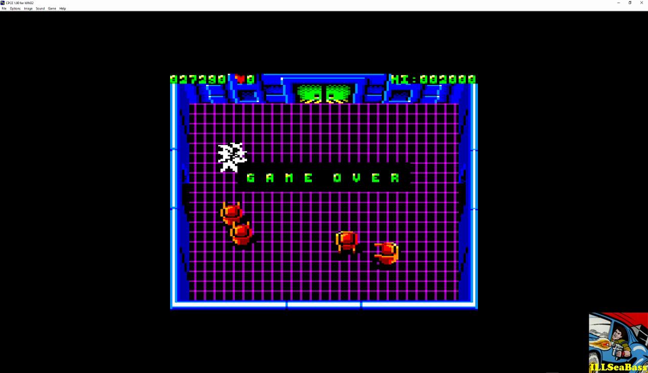 ILLSeaBass: Smash TV (Amstrad CPC Emulated) 27,290 points on 2016-11-20 01:40:43
