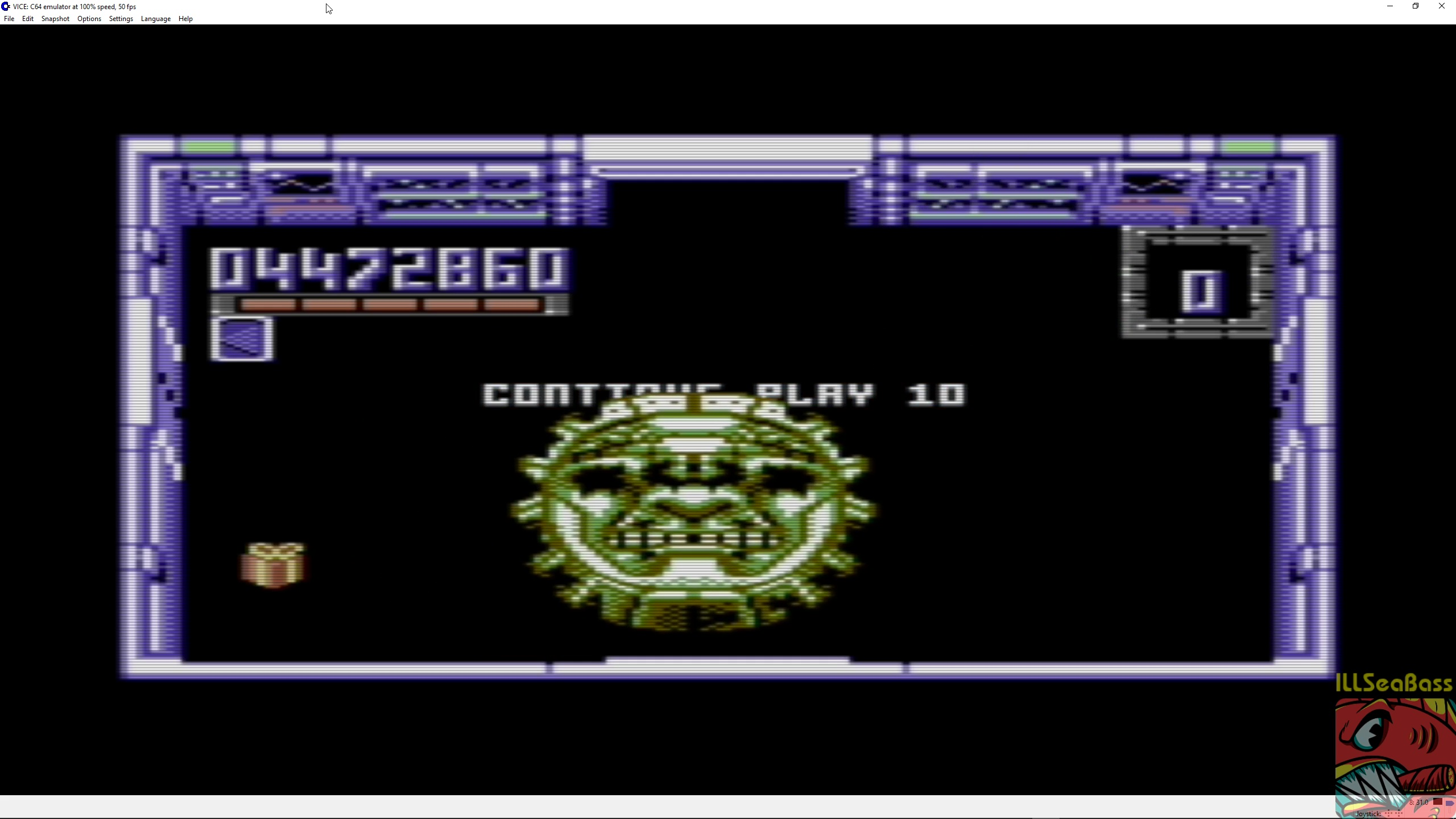ILLSeaBass: Smash TV (Commodore 64 Emulated) 4,472,860 points on 2018-04-02 17:58:46