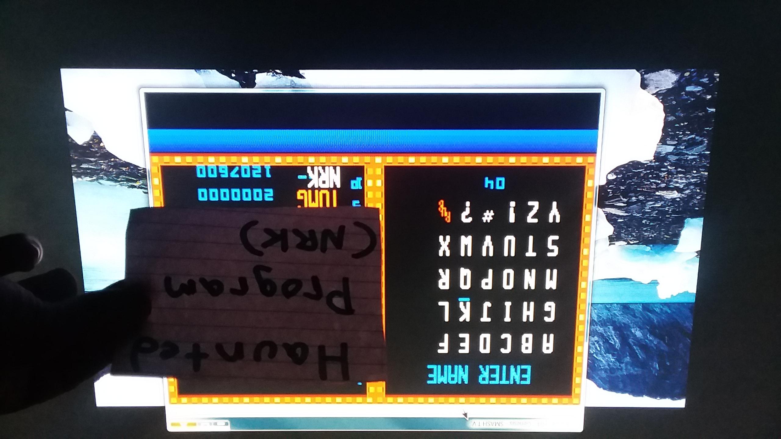 Smash TV 1,207,600 points