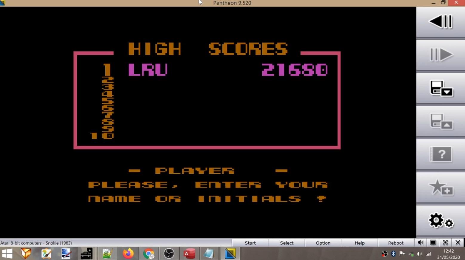Snokie 21,680 points