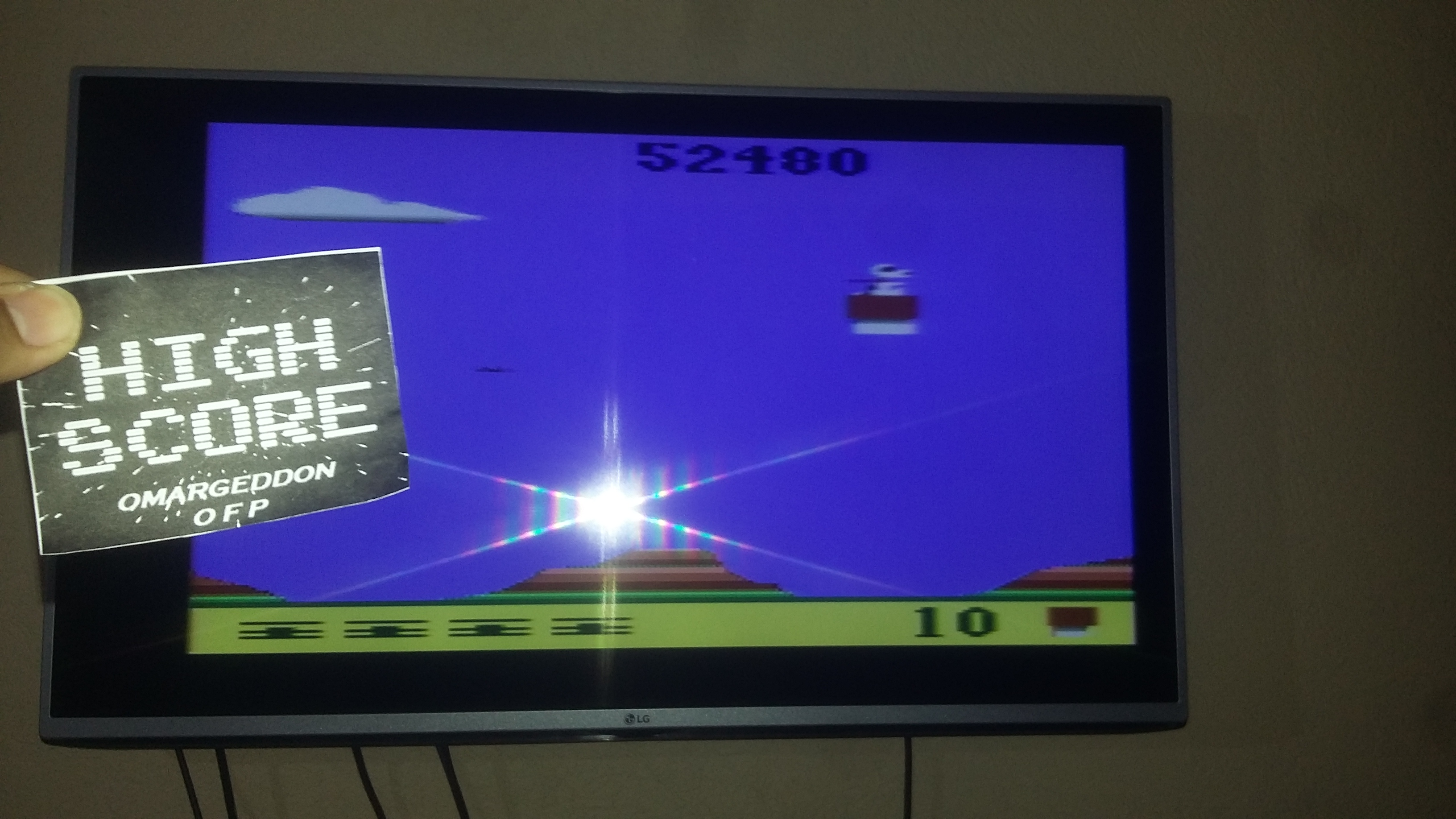 omargeddon: Snoopy and the Red Baron (Atari 2600 Expert/A) 52,480 points on 2016-11-11 19:39:55