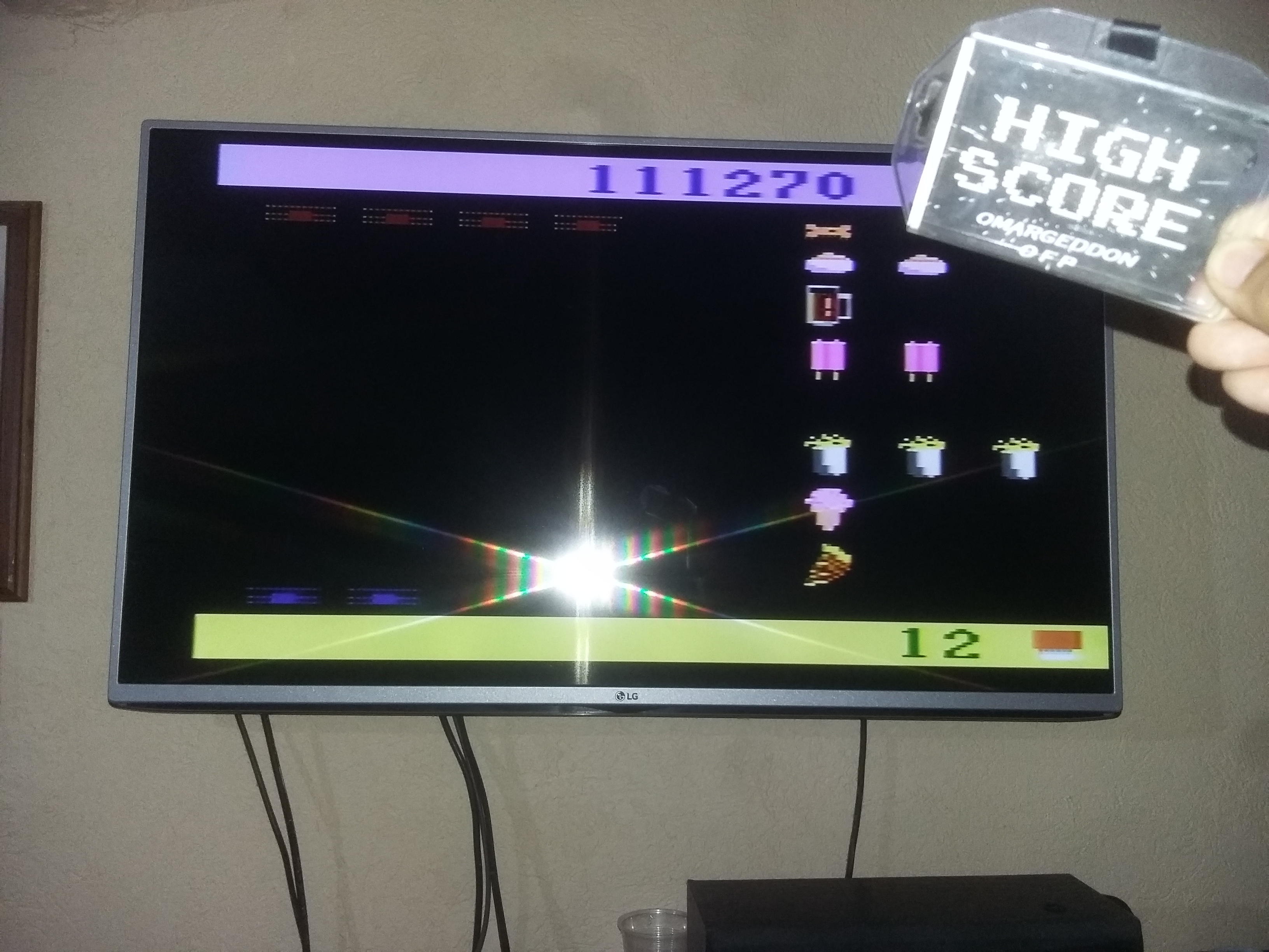 omargeddon: Snoopy and the Red Baron (Atari 2600 Novice/B) 111,270 points on 2017-05-28 08:56:35